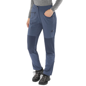 Mammut Pordoi - Pantalones de Trekking Mujer - regular azul